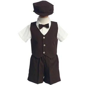 Steven Brown Boys Short Tuxedo