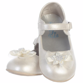 Joyce Infant Girl's Shoes - IVORY