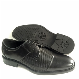 Jake - Men's Black Dress shoes with laces