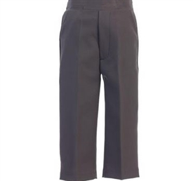 Boys Dress Pants - CHARCOAL GRAY