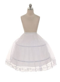PC004 Half Petticoat with hoops