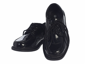 Boys Dress Shoes: PATENT BLACK