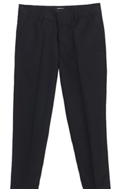 Gio Adjustable Slim Pants - BLACK