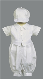 Tristan Romper Christening Outfit