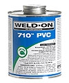 710 Quart Pvc Cement - Clear