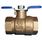 "Wilkins 850T 3/4"" Tapped Ball Valve"