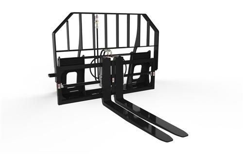 Hydraulic Pallet Forks For Skid Steer Loaders