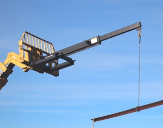 Industrial Jib For Forklifts And Telehandlers