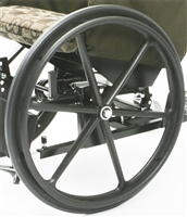 "24"" Wheel for Rock King Wheelchair"