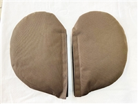 Lateral Support Covers (Brown) PAIR