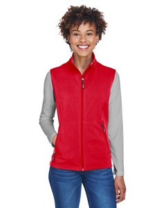 Core 365 ; Outerwear  Ladies Cruise Two-Layer Fleece Bonded SoftShell Vest