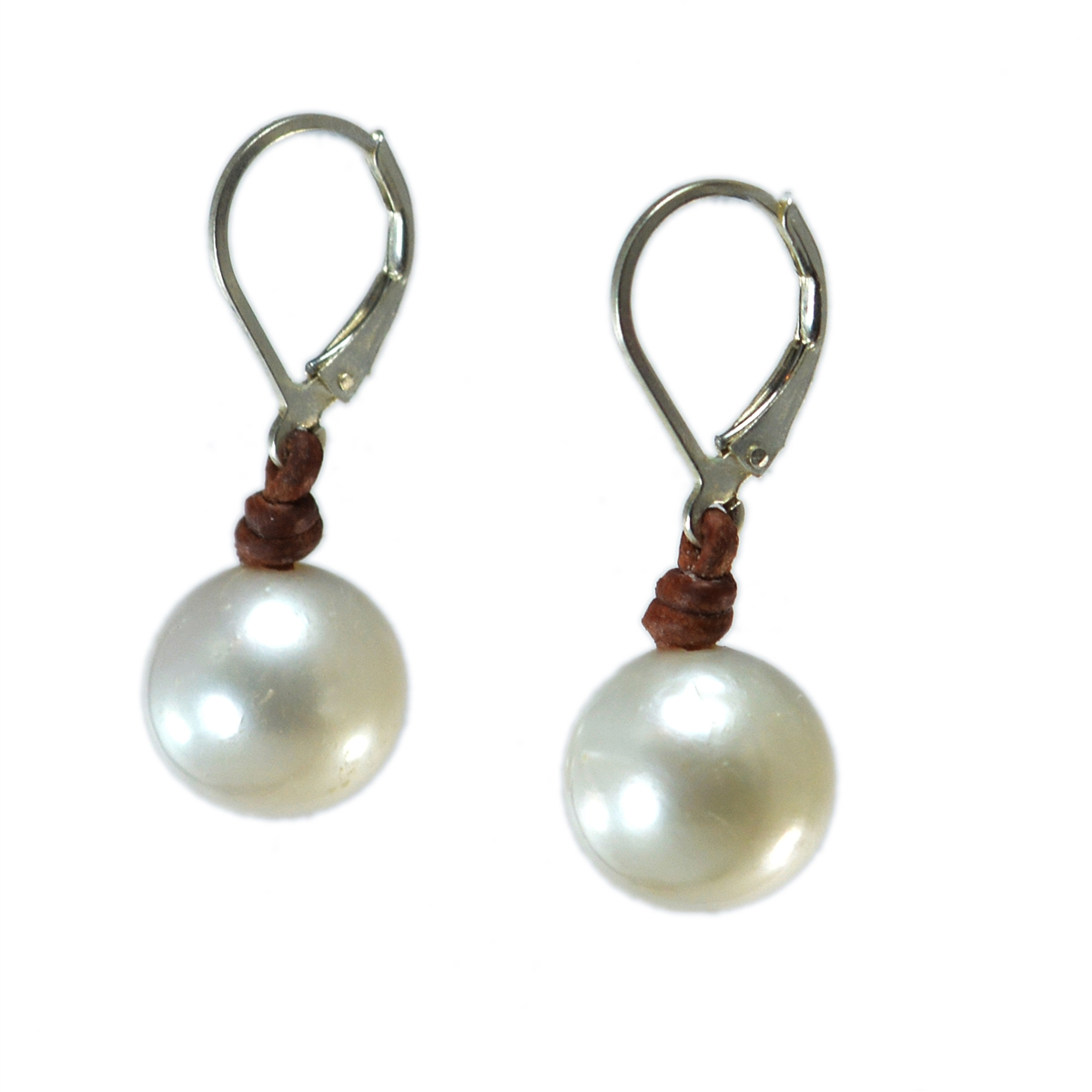 shop stainless pig steel single dangle earrings pearl freshwater designs skinny