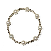 Fine Pearls and Leather Jewelry by Designer Wendy Mignot Miami Miami Illusion Bracelet