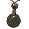 Constantine the Great Bronze Coin and Tahitian Pearl Necklace, Ltd