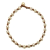 Fine Pearls and Leather Jewelry by Designer Wendy Mignot All Around the World Freshwater Necklace