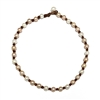 Fine Pearls and Leather Jewelry by Designer Wendy Mignot All Around the World Freshwater Necklace Multicolor