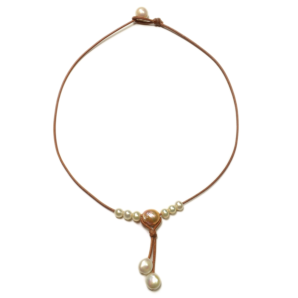 Wendy Mignot Synergy Freshwater Necklace