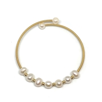 Degas Petite Pearls Bangle |  Wendy Mignot