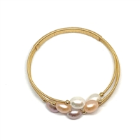 Monet Watercolor Bangle |  Wendy Mignot