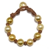 Fine Pearls and Leather Jewelry by Designer Wendy Mignot All Over the World South Sea Bracelet