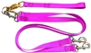 Pet Walker Plus No Tangle Leash for 2 Dogs - Large / Hot Pink
