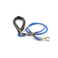 Bun-Gee Pup-EE Single Walker Dog Leash - Small / Blue 3 Foot