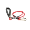 Bun-Gee Pup-EE Single Walker Dog Leash - Small / Red 6 Foot
