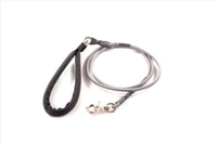 Bun-Gee Pup-EE Single Walker Dog Leash - Small / Grey 6 Foot
