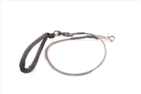 Bun-Gee Pup-EE Single Walker Dog Leash - Small / Grey 3 Foot