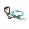 Bun-Gee Pup-EE Single Walker Dog Leash - Small / Teal 3 Foot