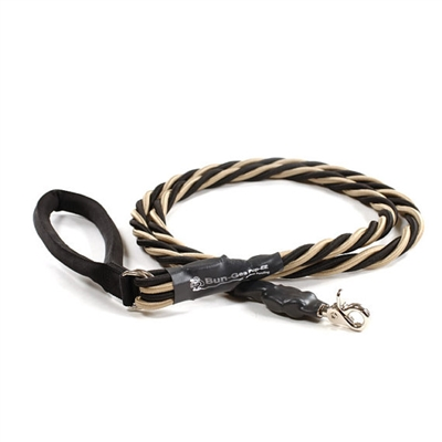 Bun-Gee Pup-EE Single Walker Dog Leash - X-Large / Gold/Black 6 Foot
