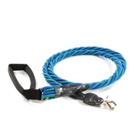 Bun-Gee Pup-EE Single Walker Dog Leash -  X-Large / Teal/Blue 6 Foot