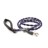 Bun-Gee Pup-EE Single Walker Dog Leash - Medium / Purple/Black 6 Foot