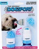 DogSport Water Bottle Cap for Dogs - Two Pack