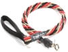 Bun-Gee Pup-EE Single Walker Dog Leash - Large / Red/Black/Gold 6 Foot