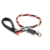 Bun-Gee Pup-EE Single Walker Dog Leash - Large / Red/Black/Gold 3 Foot