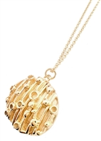 Atomic Disc necklace by Janesko