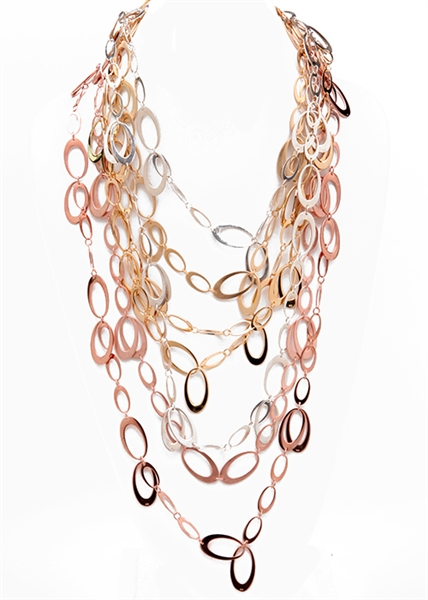 435 Hanging Links necklace by Janesko
