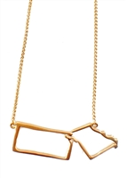Traveler KS/MO necklace by Janesko