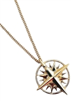 Traveler compass necklace by Janesko