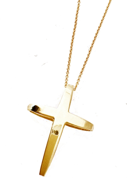 Traveler Cross necklace by Jennifer Janesko