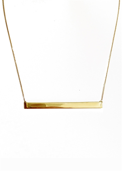 Traveler runway east/west necklace by Janesko