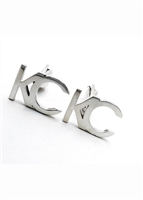 Traveler KC cufflinks by Janesko