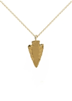 Traveler Arrowhead Necklace by Jennifer Janesko