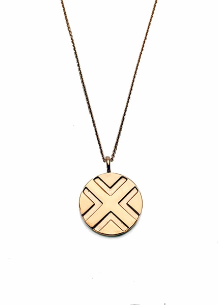 Crossing Necklace by Janesko