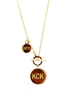KCK Necklace Toggle Necklace by Janesko