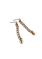 Rail Chain Earrings by Janesko