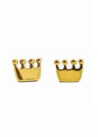 Traveler Champion Crown Earrings by Janesko