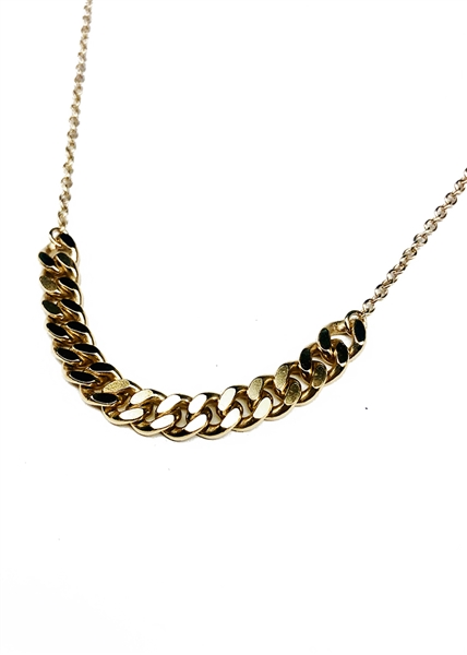 Rail Chain Necklace by Janesko