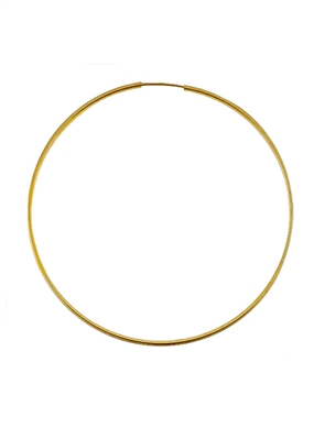 Endless Summer Hoops by jewelry designer Jennifer Janesko